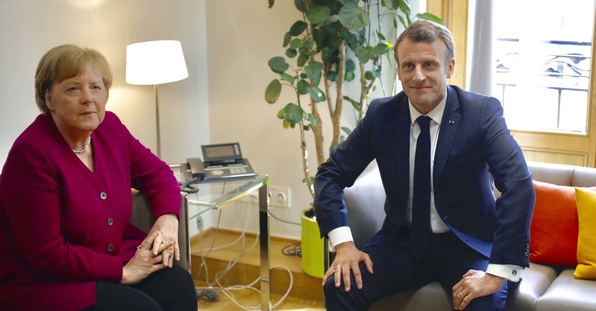 Claims of Macron and Merkel for the Commission President