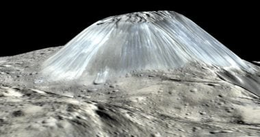NASA picks up astonishing picture of a strange mountain on the Ceres asteroid