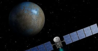 Image reveals a mysterious iceberg on dwarf planet