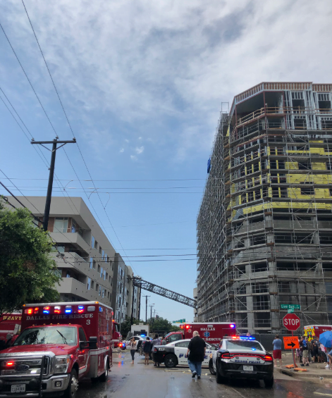 America: One dead as crane fall on a residential building in downtown Dallas