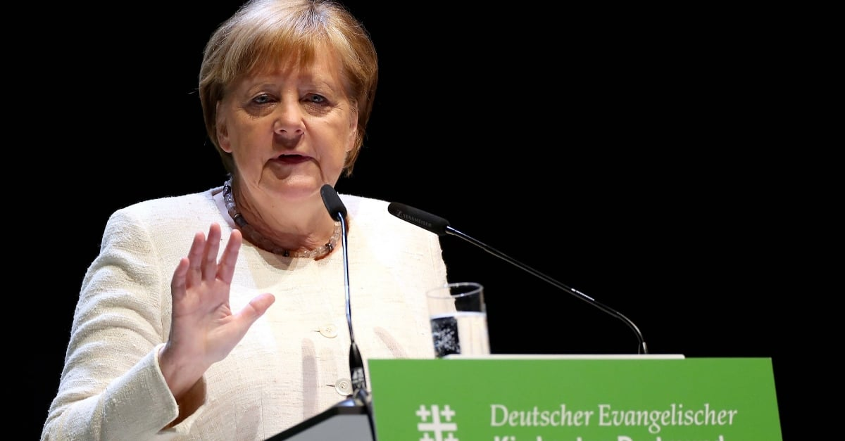 German Chancellor calls for fight against right-wing extremism