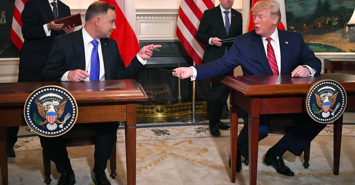 Trump considers relocation of troops from Germany to Poland