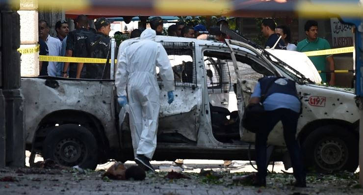 Tunis shaken by two suicide attacks, One police officer dead