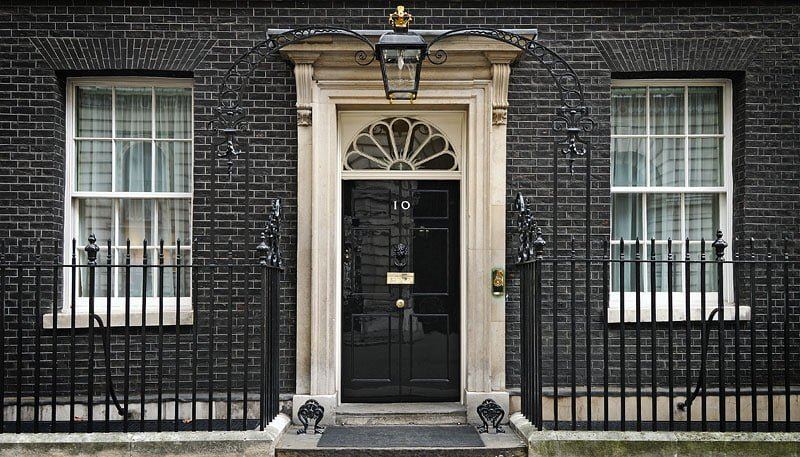 From 10 Downing Street to the official residence of the British Prime Minister