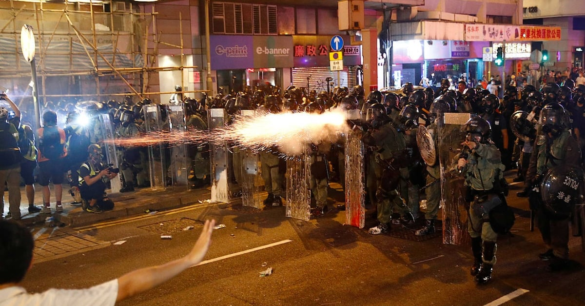 Does China promotes military operation in Hong Kong protests?
