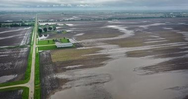 Satellite images reflects weather effects on farming