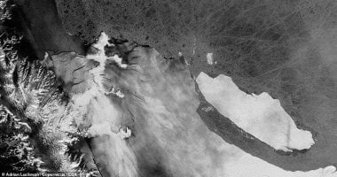 Satellite reveals the movement of largest Glacier in the world