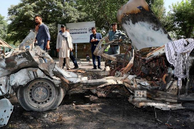 8 dead, 33 injured after a bomb explode outside Kabul University