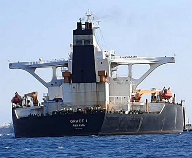US will strongly impose sanctions to prevent Iranian oil tanker sailing