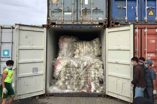Cambodia returns 1,600 tonnes of waste to US, Canada