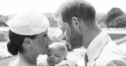 Duke and Duchess of Sussex reveal new image of their child on his baptism