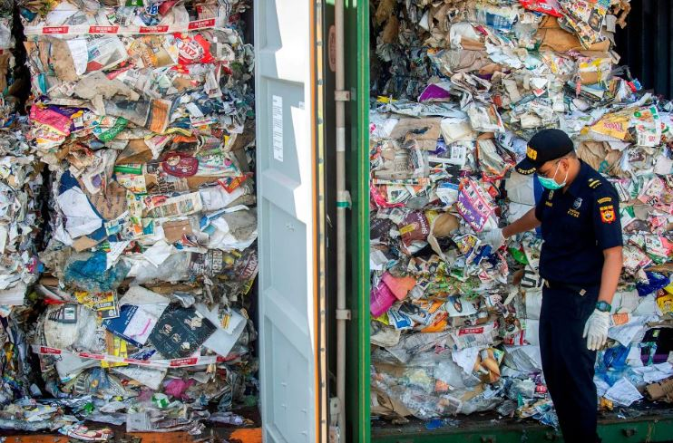 Indonesia will return 210 tonnes of garbage to Australia