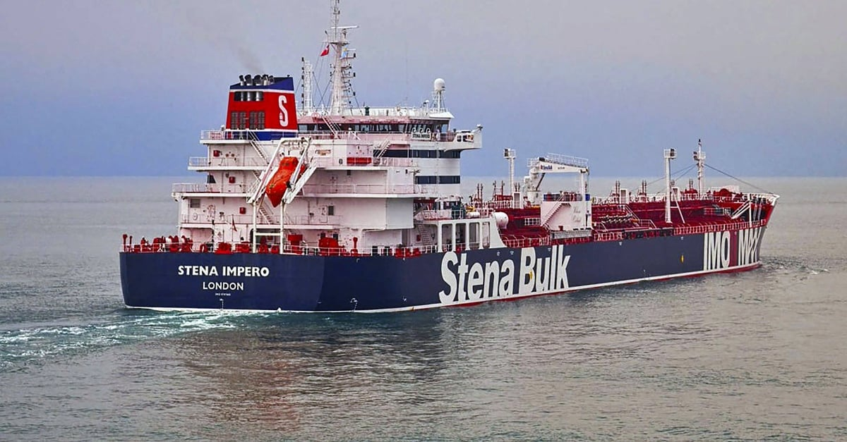 Iran stops another British-flagged oil tanker in the Strait of Hormuz