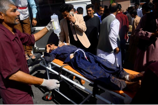 38 dead,17 injured in a mine explosion in Afghanistan