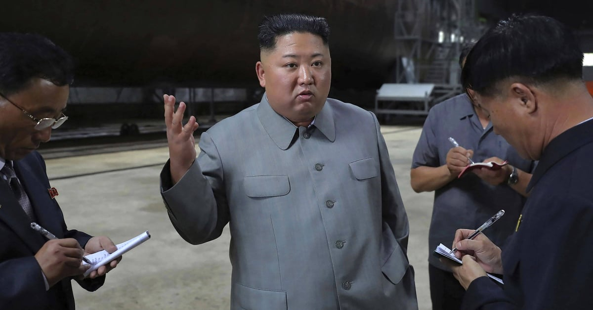 North Korean military fires two unidentified projectiles into the open sea