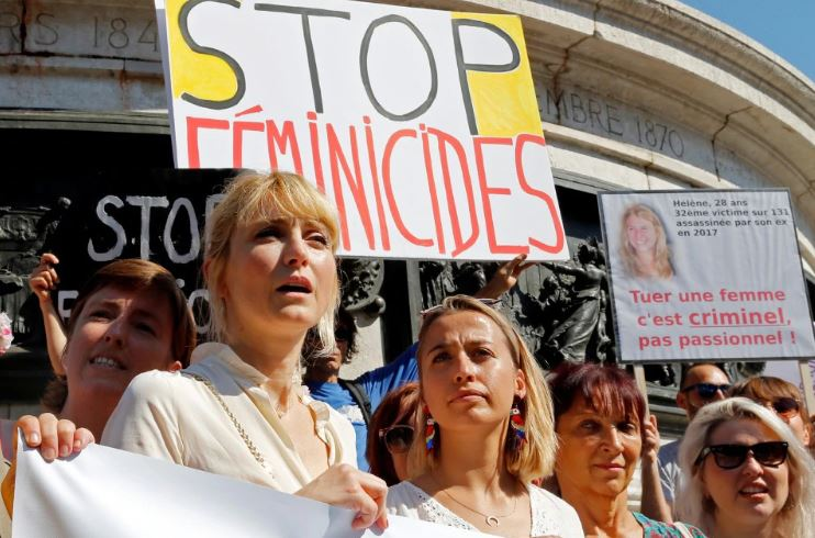 Femicides: Hundreds gathered to protest against domestic violence in France