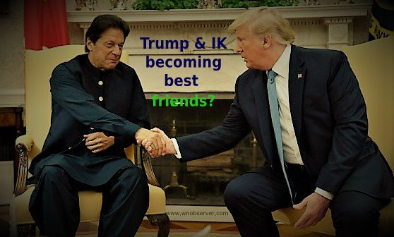 Are Trump and IK becoming the best friends?