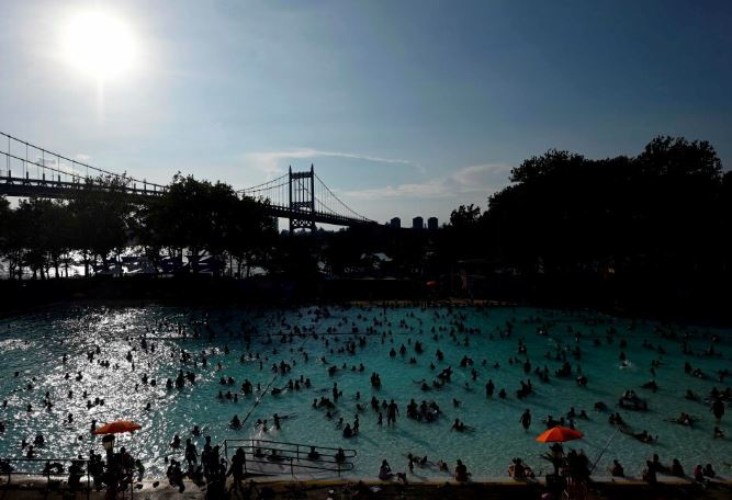 Major US cities experienced hot weather