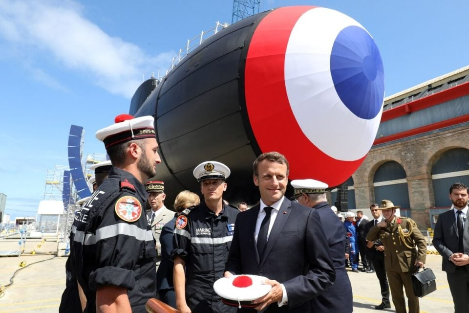 France inducts barracuda class first nuclear-powered submarine in the navy strength