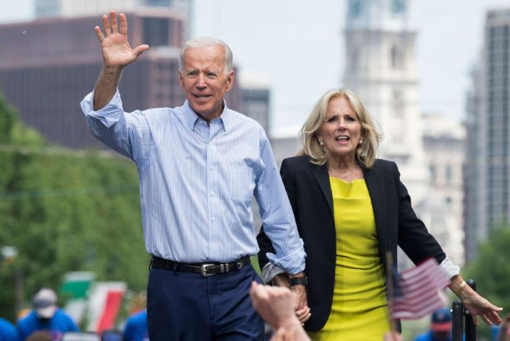 Talks and books: Biden and his wife earns over $ 15 million in two years
