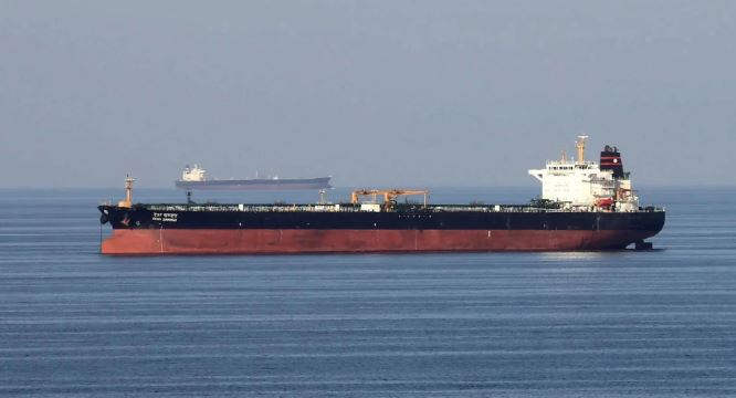 US suspects Iran captures oil tanker in Hormuz Strait