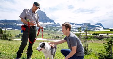 Zuckerberg doesn't seem to travel much for fun