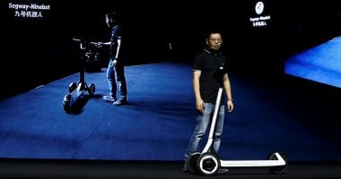 Electric scooter can drive itself to the place of charging