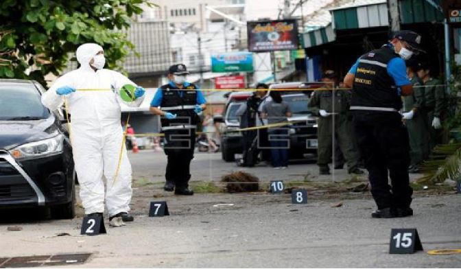 Thailand linked Bangkok bomb explosions with Southern detachment