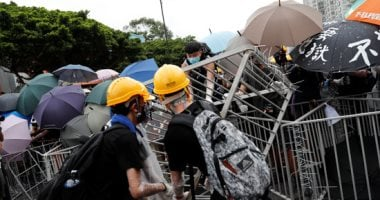 China condemns insult to flag by some protesters in Hong Kong
