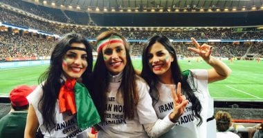 Under the FIFA pressure, Iran allowed women to enter the stadium in October