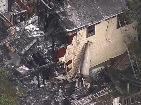 Cessna 303 crashes on a house roof in Dutchess County, 2 dead