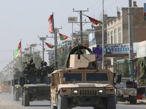 Taliban launches large-scale attack on Kunduz