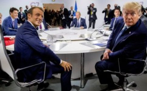 Trump and Macron to meet journalists after G-7 summit today