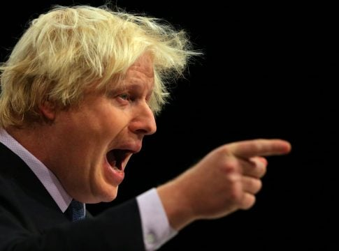 Boris Johnson sticks to the law that does not suit him
