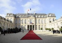 Elysee: Talks with Iranian foreign minister are positive and will continue