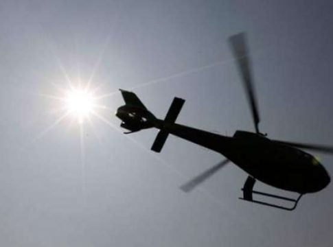 Private helicopter crashed after colliding with power lines near Moscow