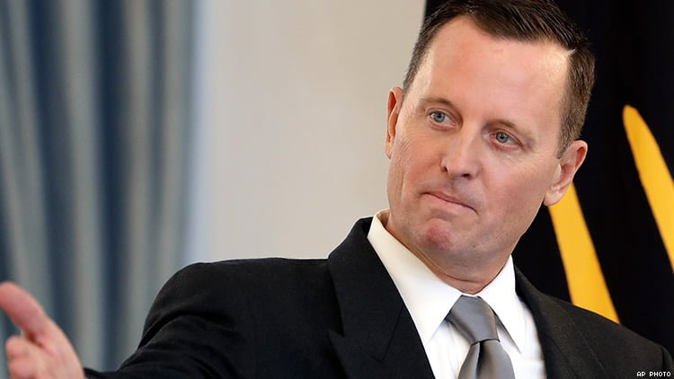 Richard Grenell attacks Germany for refusing to join Strait of Hormuz