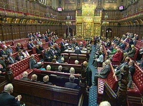 British House of Lords agrees to shift