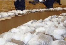 Guinea-Bissau police seizes 1.8 tons of cocaine