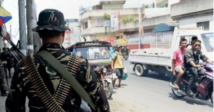 Suicide bomber explodes outside military camp in southern Philippines