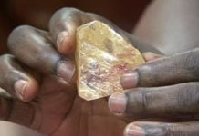 "Mysterious Earth Cloak mineral ""Goldschmidtite"" discovered in a diamond in South Africa"