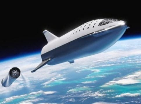 SpaceX is usng Tesla vehicle batteries for the new Starship