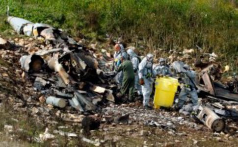Two killed after Spanish Air Force training plane crashes into the sea