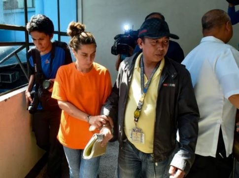 A US citizen arrested on human trafficking charges in Philippines