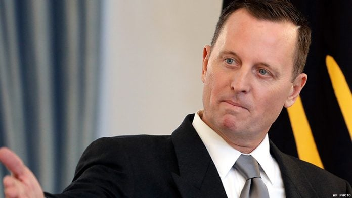 Richard Grenell to succeed Bolton as security adviser?