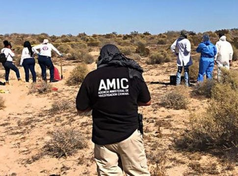 42 human skeletons discovered in a Mexican resort town