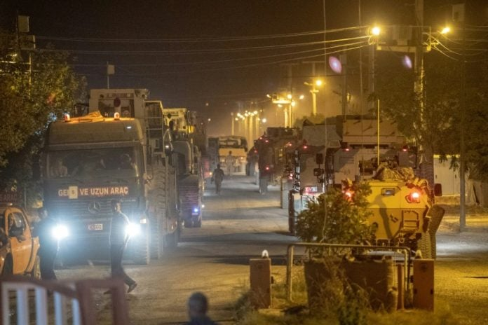 Turkish military operation begins in northern Syria