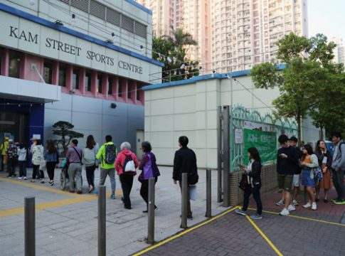 Hong Kong local elections begin after months of protests