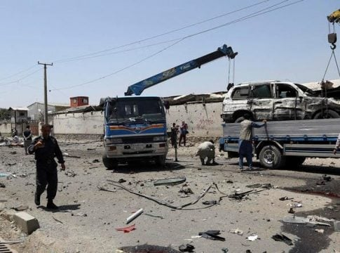 Afghan army commander killed in bomb blast in southern Afghanistan