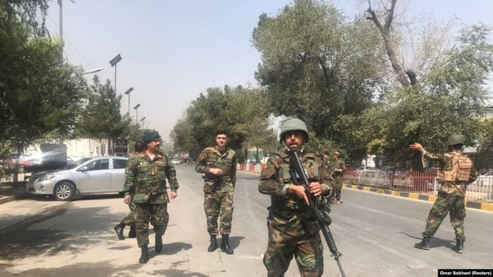 Eight soldiers killed in Taliban attack on checkpoint in central Afghanistan